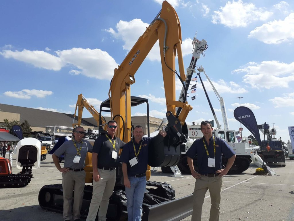 The Harford team at ICUEE Demo Expo